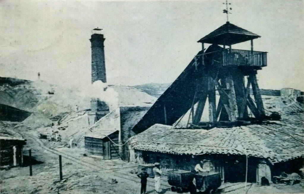 Pozzo di estrazione, Caltanissetta