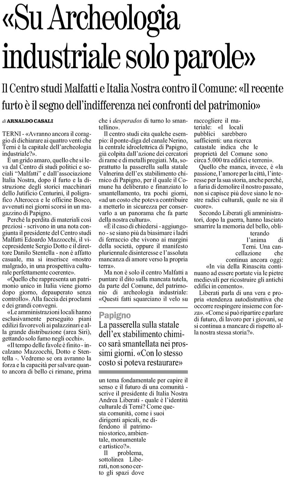 Il Giornale dell'Umbria 07-07-2012 p25