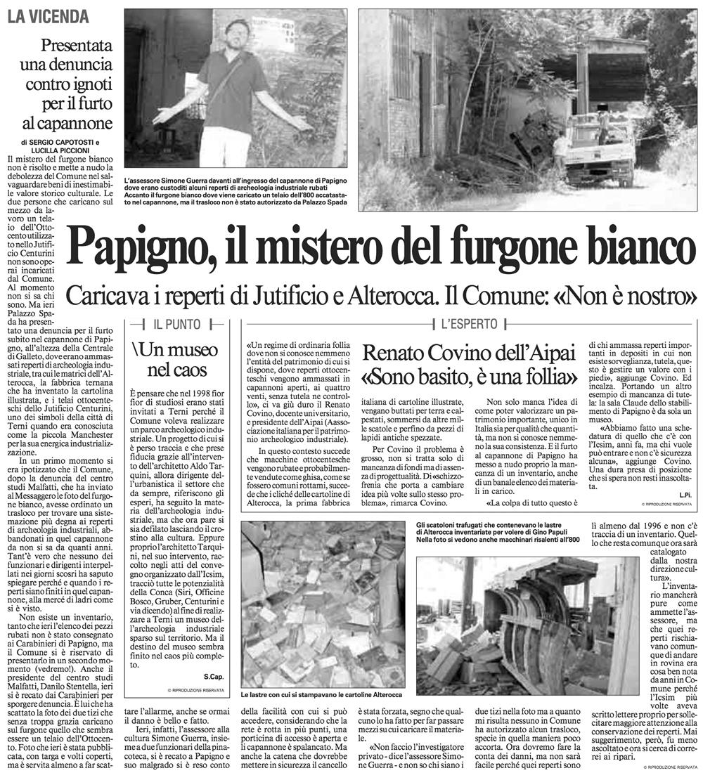 Il Messaggero 04-07-2012 p41