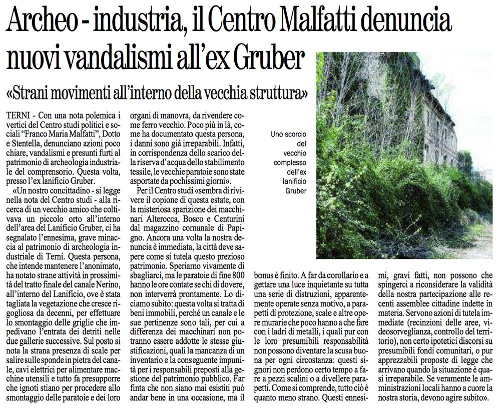 2012-11-22 Giornale dell'Umbria