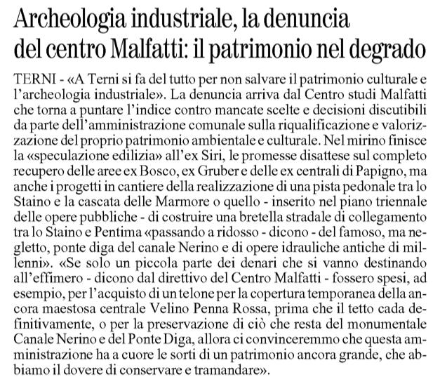 Il Giornale dell'Umbria 09-03-2013 p22