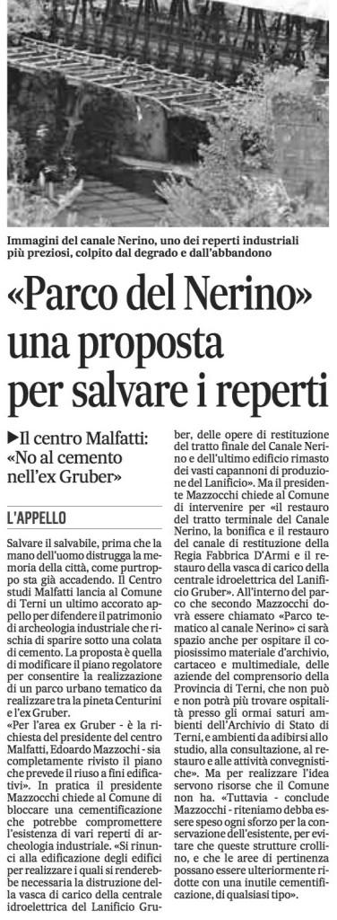 Il Messaggero del 13-05-2013, p. 48.
