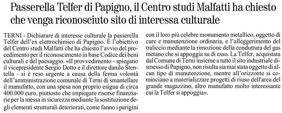 Giornale dell'Umbria 22-07-2014, p. 21
