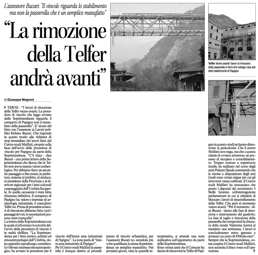 Corriere dell'Umbria 18-10-2014 - Pag. 47