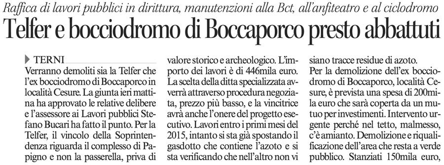 Corriere dell'Umbria 04-12-2014