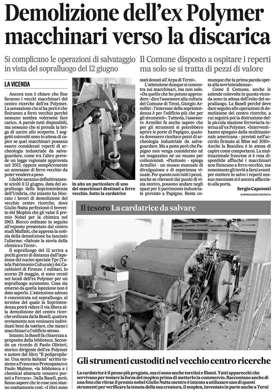 Il Messaggero 08-06-2015 p. 40