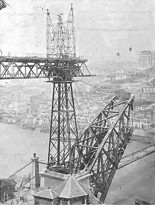La costruzione del Dom Luis nel corso del 1881