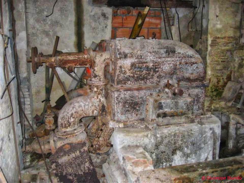 I resti di un motore idraulico