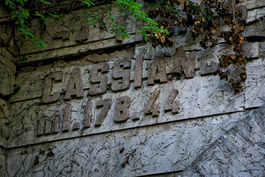 Ingresso galleria San Cassiano