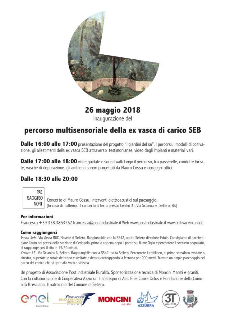 inaugurazione del percorso multisensoriale della ex vasca di carico SEB