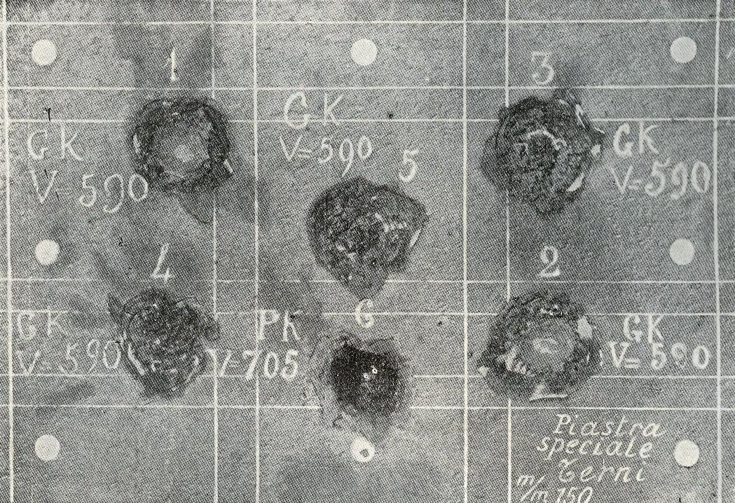 Prova di tiro effettuata presso il poligono di Muggiano, La Spezia