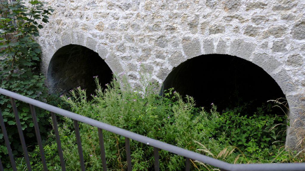 Canale di scarico del vecchio mulino