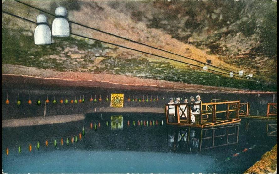 Il lago sotterraneo