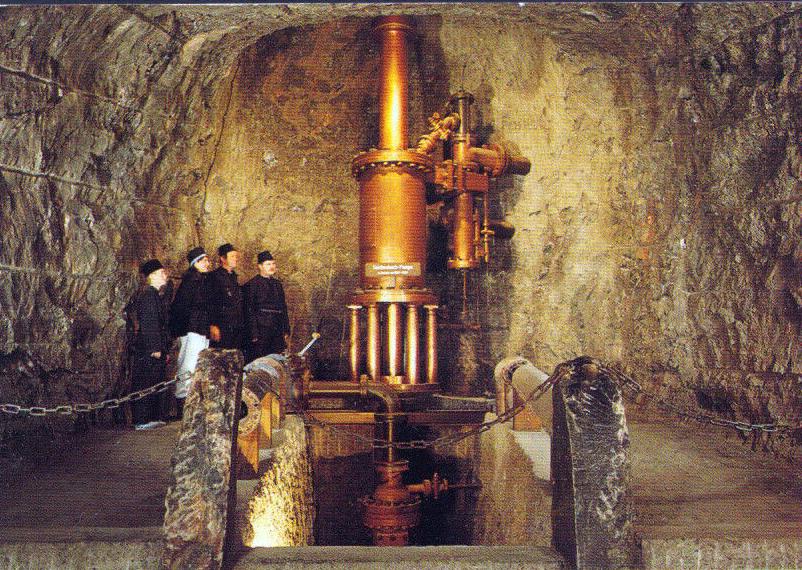 Impianto per il pompaggio dell'acqua